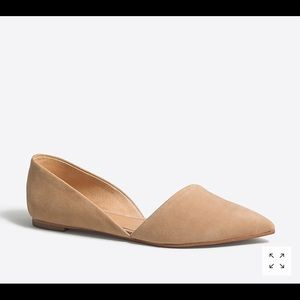 Brand New in box J Crew d'Orsay flats   Size 6